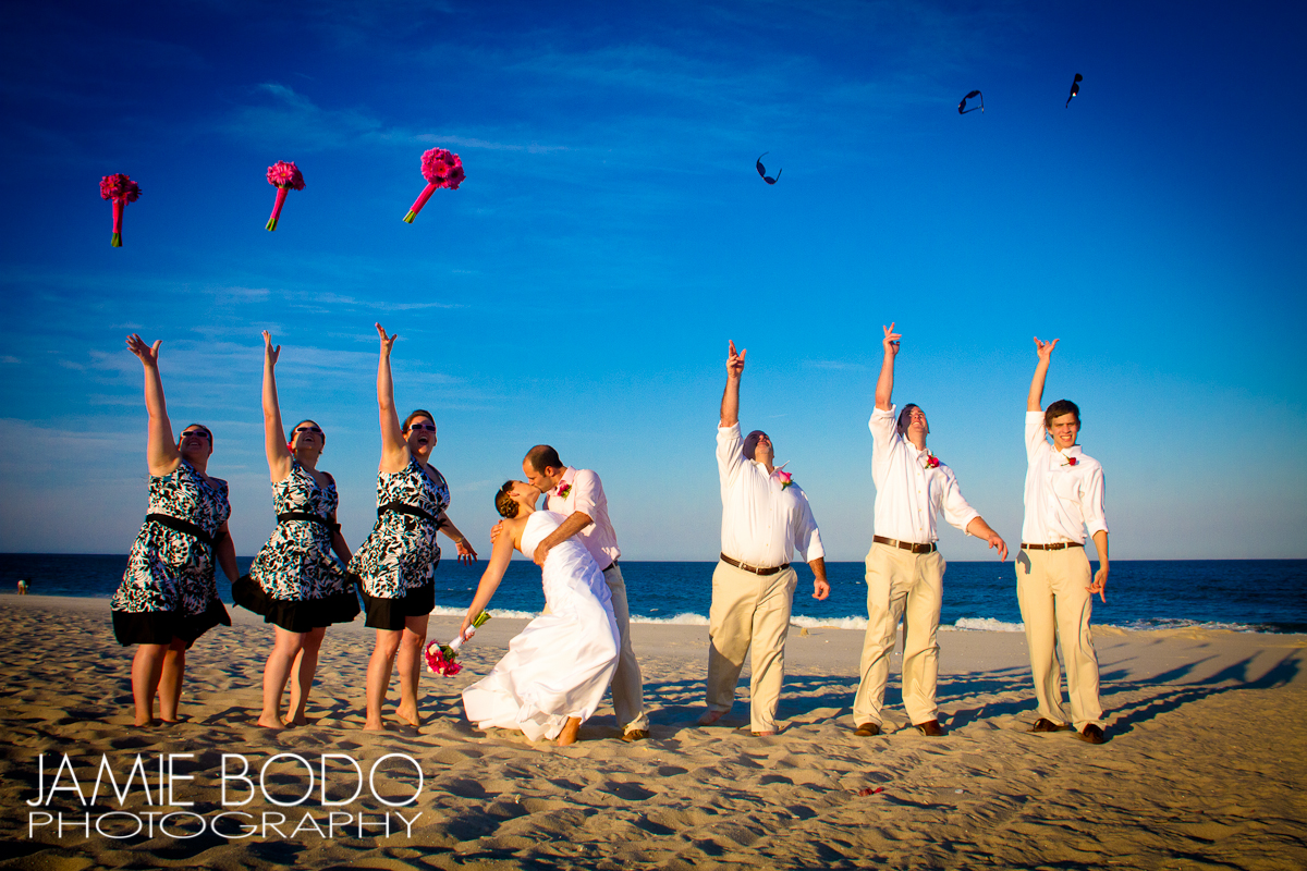 Seaside Heights Beach Wedding Jamie Bodo Photo