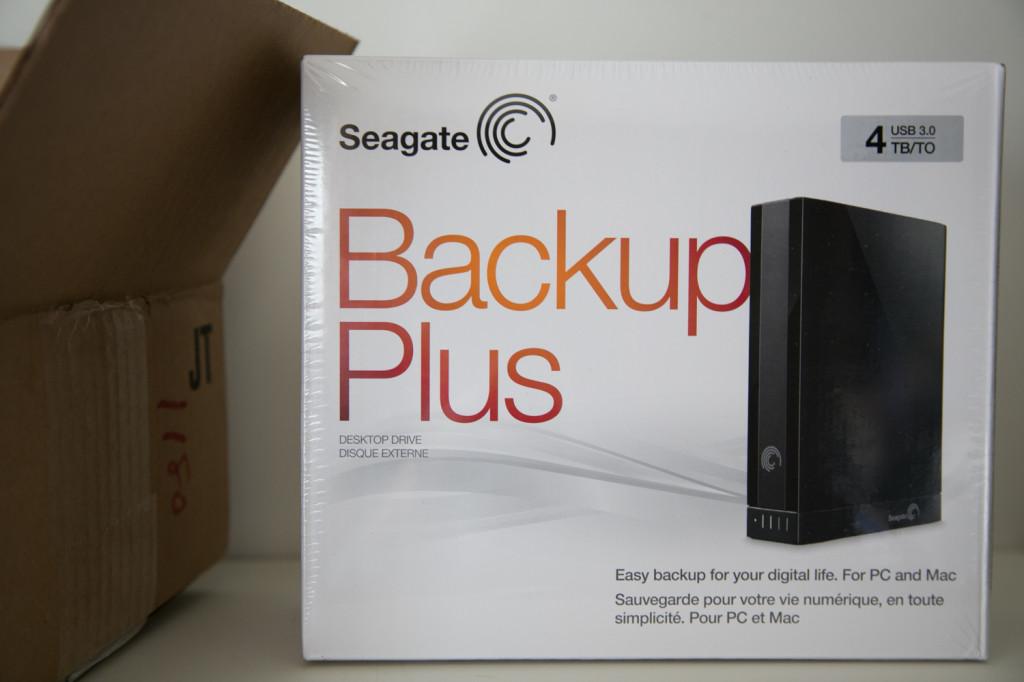 4tb Seagate Externa Hard Drive via Buy.com