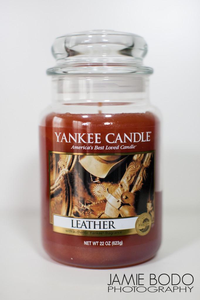 Leather Yankee Candle Jamie Bodo Photo