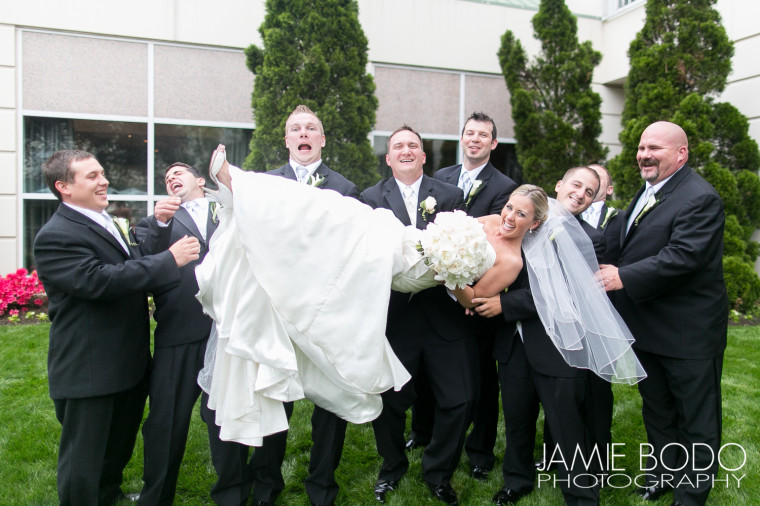 Hamilton Park Hotel Wedding Photo