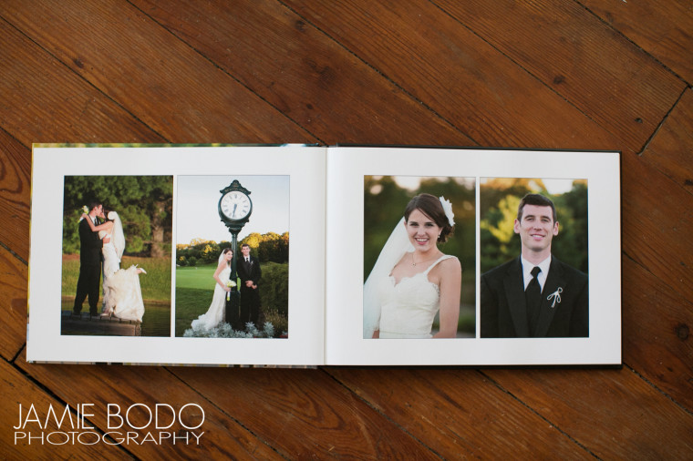 Custom Italian Wedding Albums