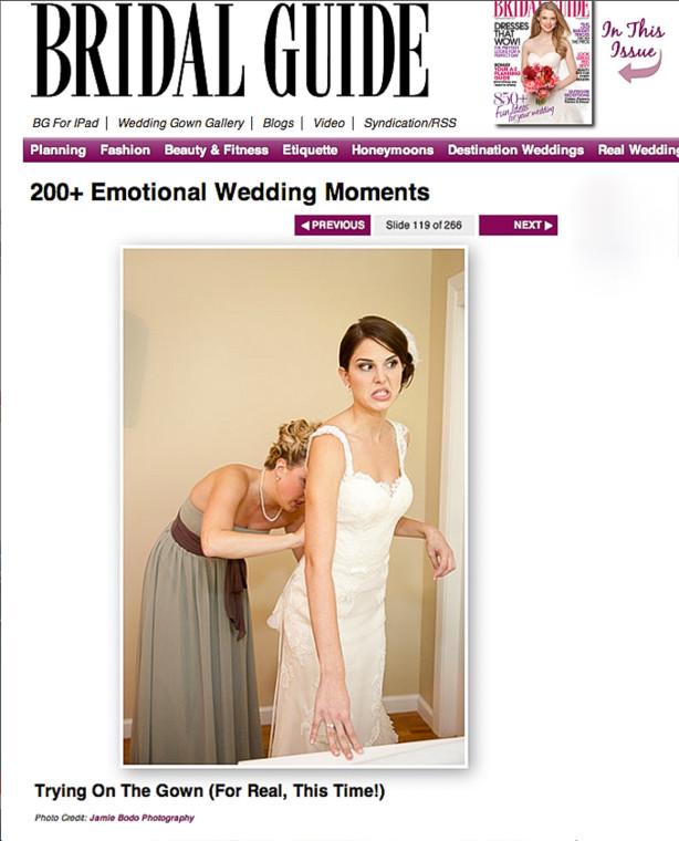 Published NJ wedding photography by NJ Wedding Photographer Jamie Bodo