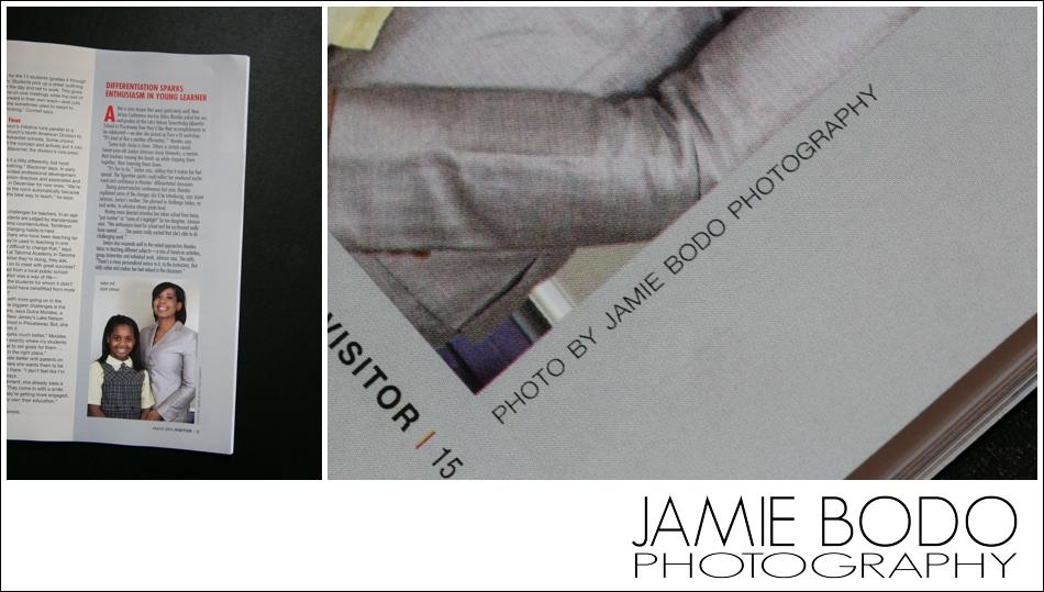 Magazine cover by NJ Wedding Photographer Jamie Bodo