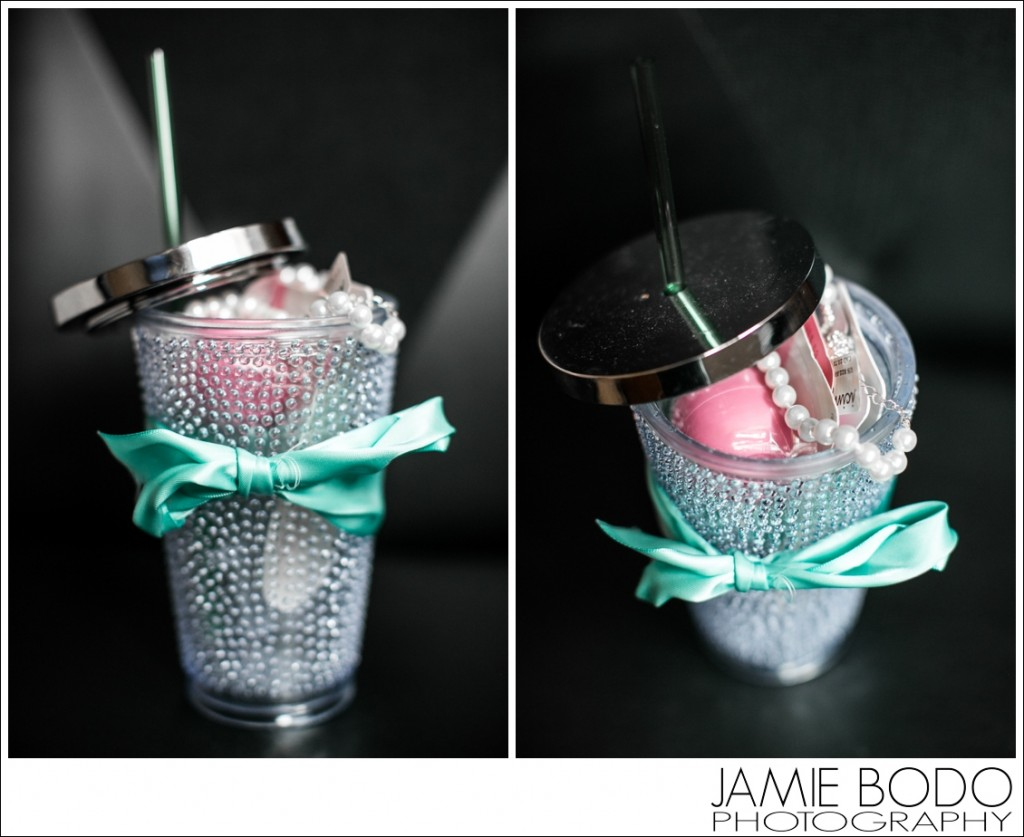 Gift for Bridesmaids in a cup