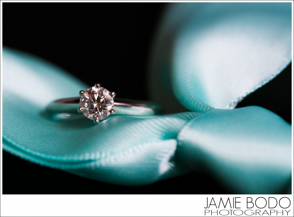 Macro Engagement Ring Jamie Bodo Photography