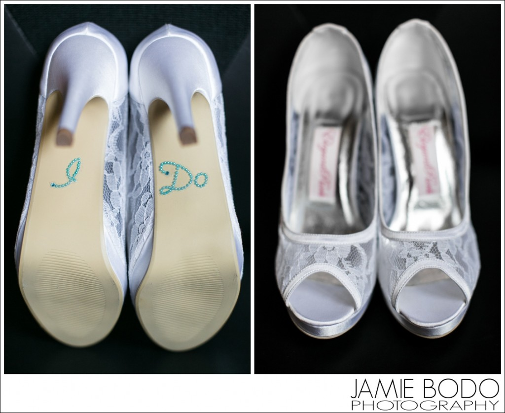 Wedding Shoe I DO stickers Jamie Bodo