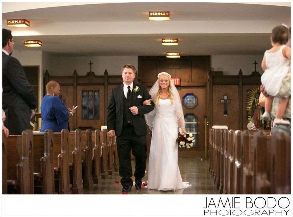Cathedral of the Immaculate Conception Camden Wedding Photos
