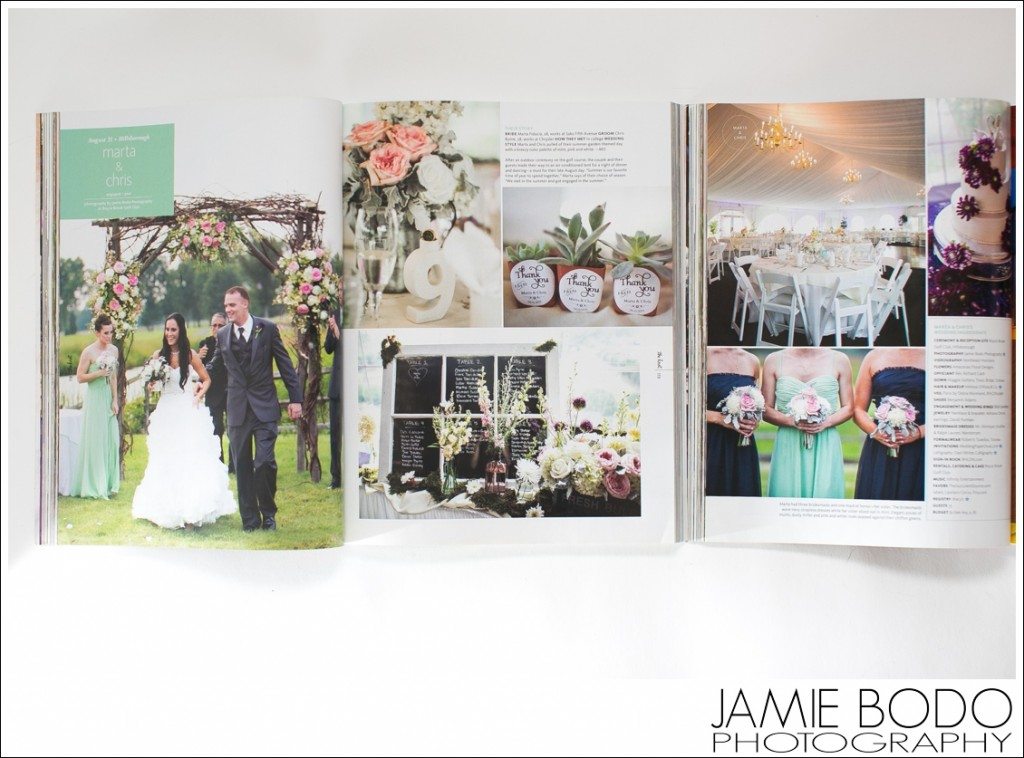 Published in The Knot Fall Winter 2014 Magazine NJ Jamie Bodo Photography_0210