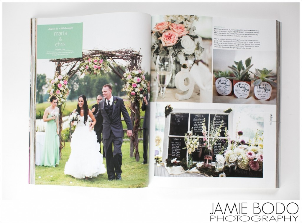 Published in The Knot Fall Winter 2014 Magazine NJ Jamie Bodo Photography_0211
