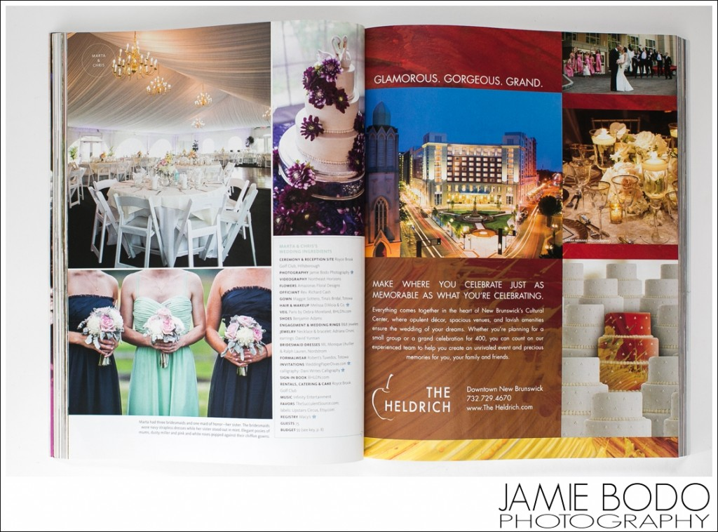 Published in The Knot Fall Winter 2014 Magazine NJ Jamie Bodo Photography_0212