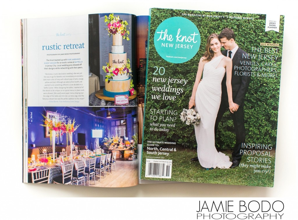 Battello Jersey City Wedding Published in The Knot