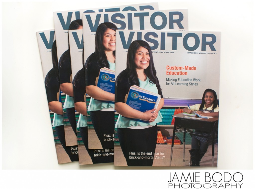 Cover of Visitor Magazine Commercial Photographer