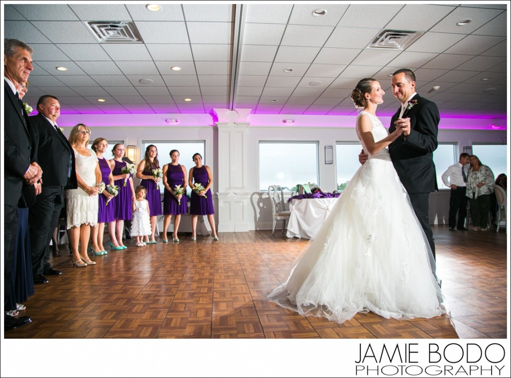 First Dance Waters Edge Wedding Venue NJ Photos
