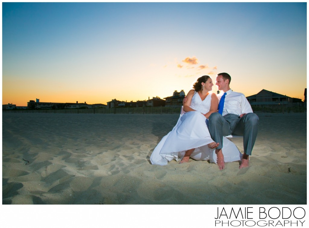 Cape May Wedding Photography on the Beach