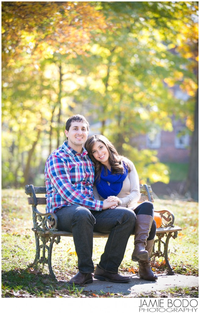Allaire State Park Engagement Session