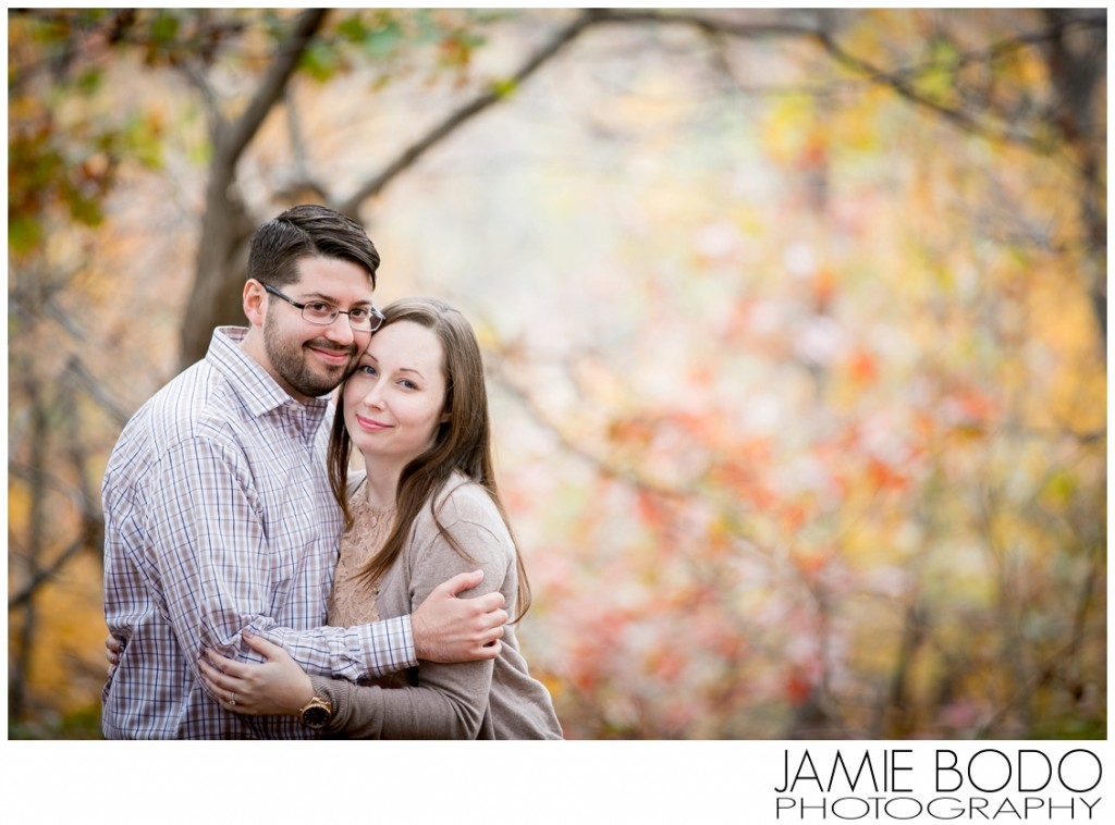 Stokes State Forest Branchville NJ Autumn Engagement Photos