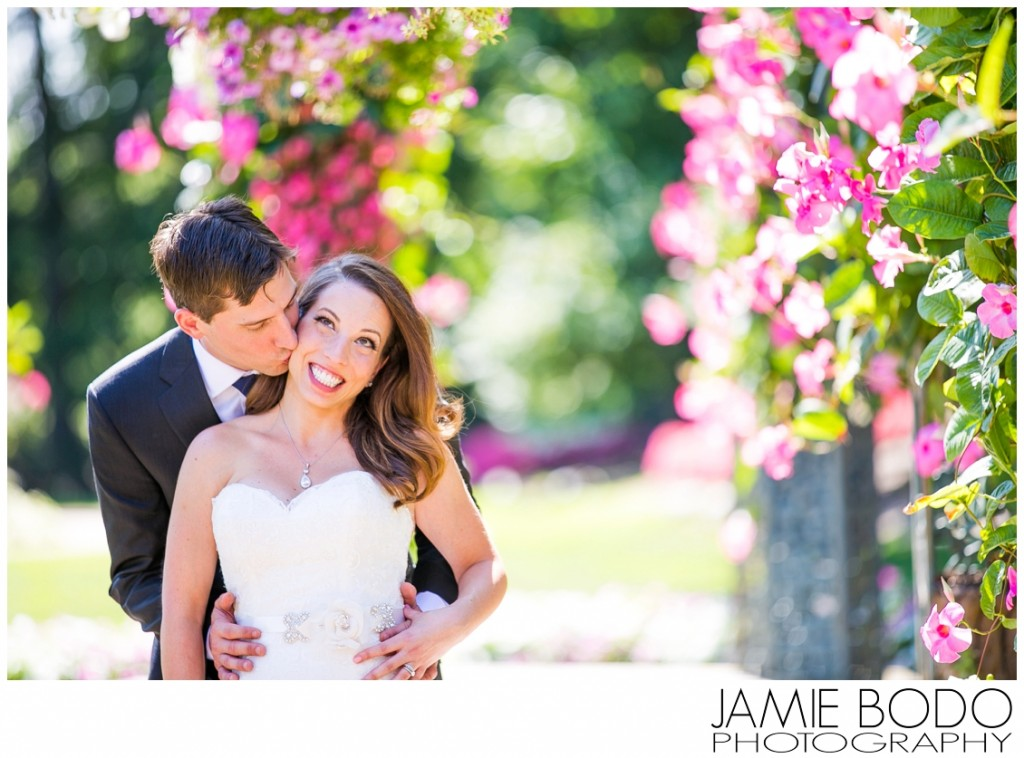 beautiful flower archway pictures at The Manor in West Orange NJ Wedding Photo