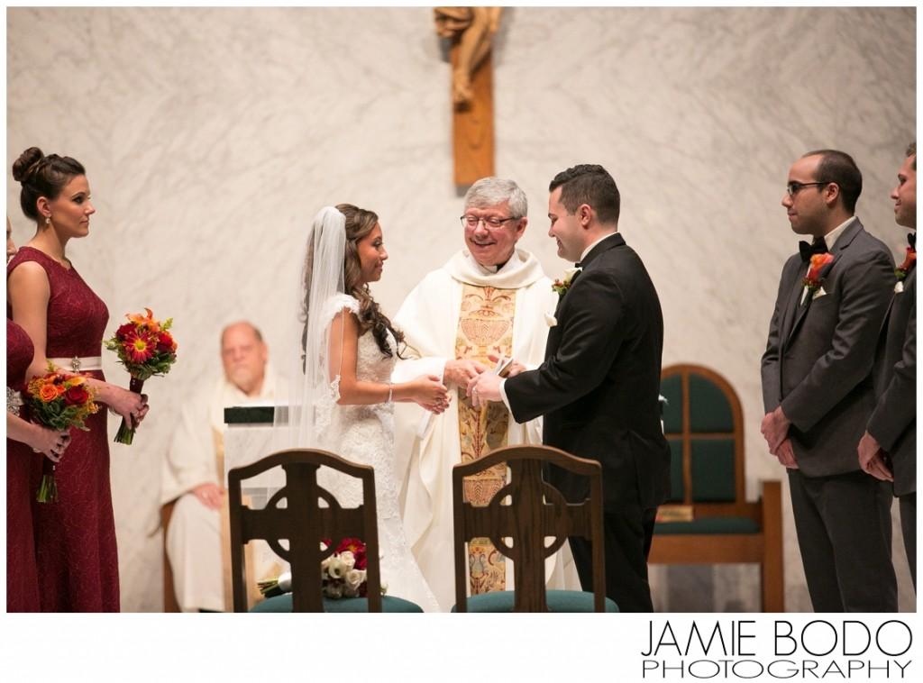 Notre Dame of Mount Carmel Catholic Church Wedding Photo