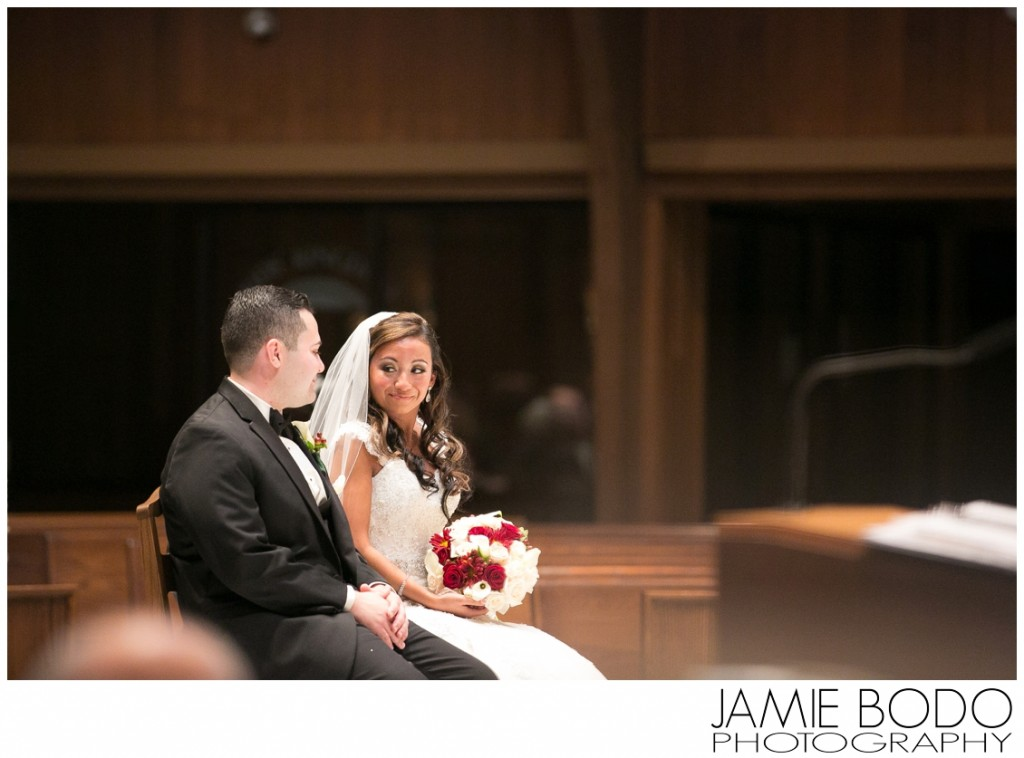 Notre Dame of Mount Carmel Catholic Church Wedding Photo
