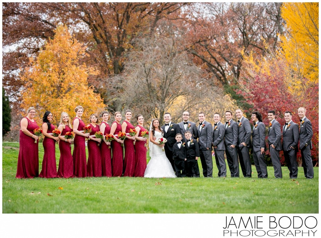 Frelinghuysen Arboretum Wedding Party in Morristown NJ Photos