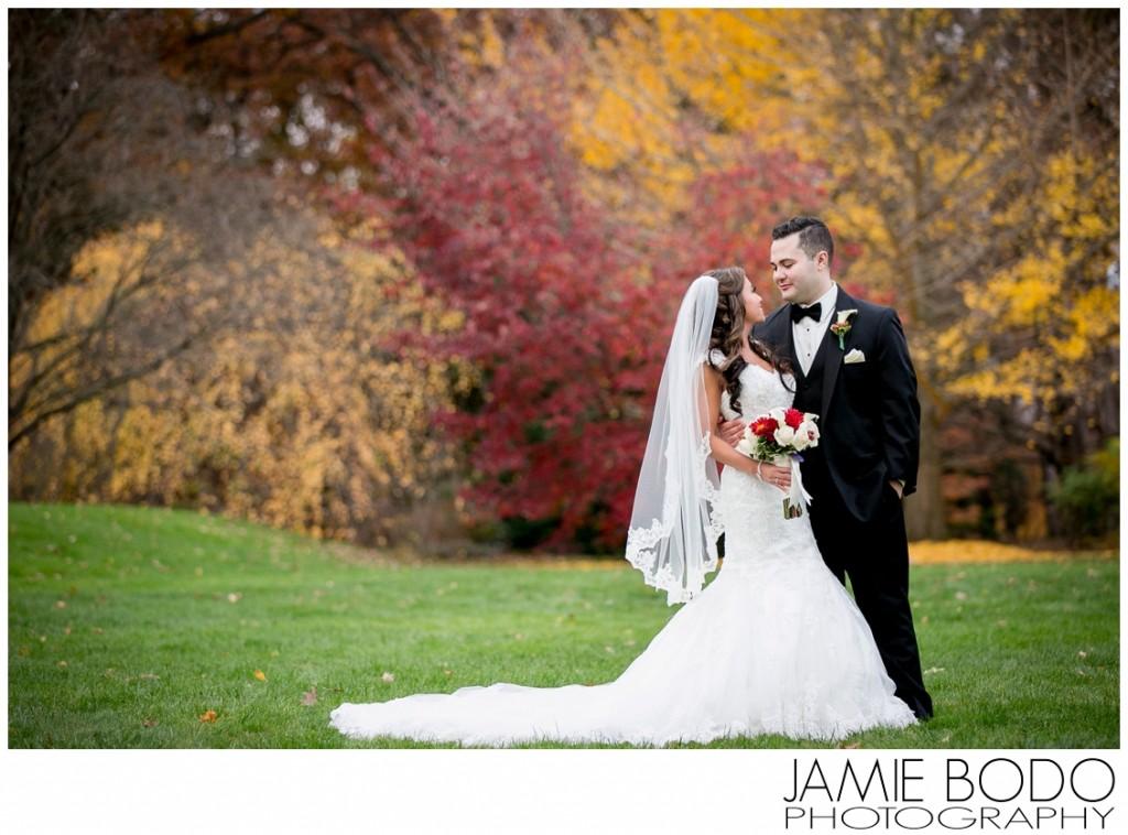 Frelinghuysen Arboretum Wedding Party Photos in Morristown NJ