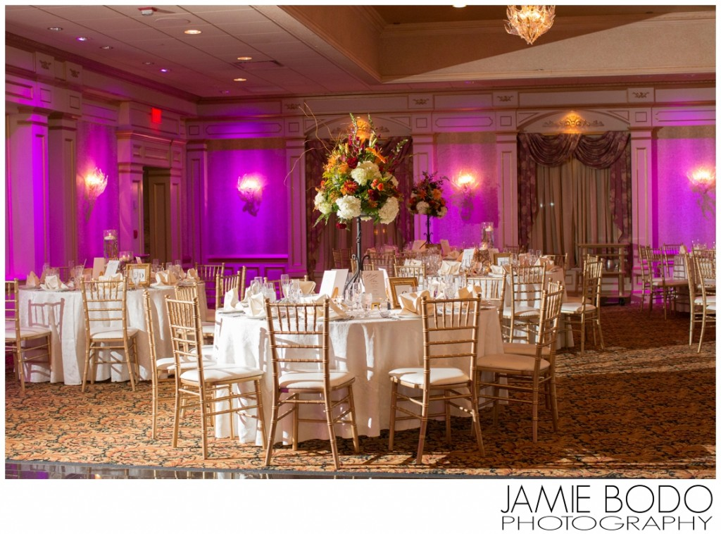 ballroom at il Tulipano NJ wedding photos