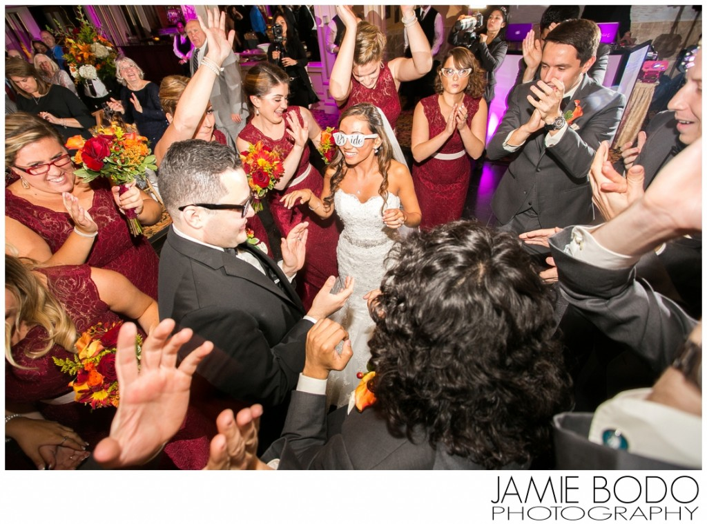 awesome wedding party introductions at il Tulipano photos