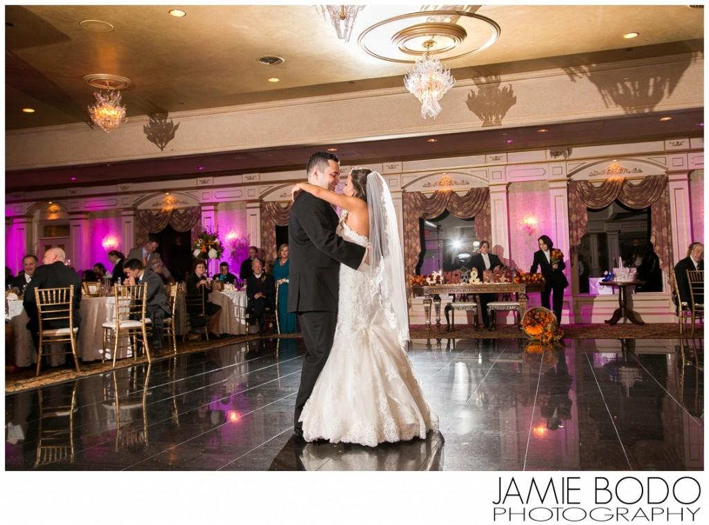 stunning first dance at il Tulipano NJ wedding photo