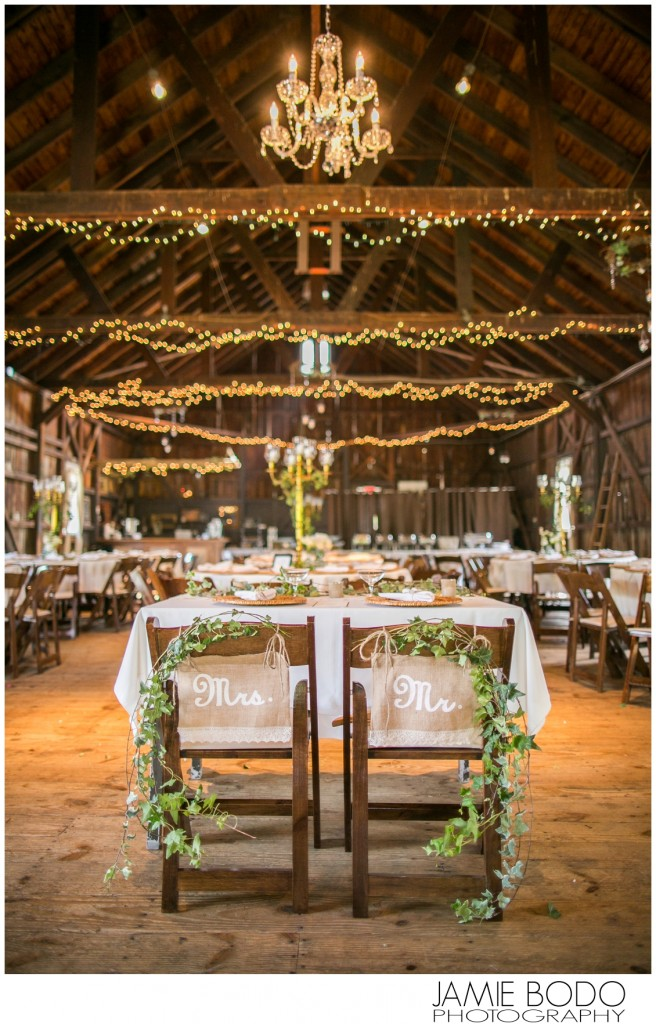 Published in The Knot New Jersey Magazine {Rodes Barn} Photo
