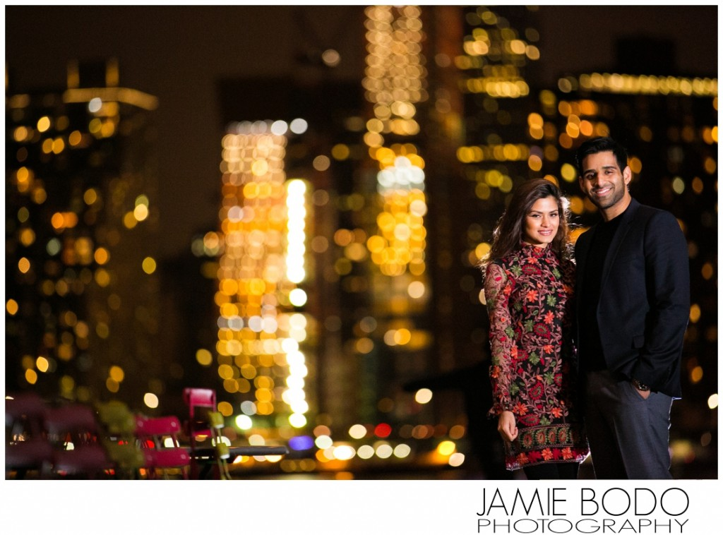 Long Island City Engagement Session Photo