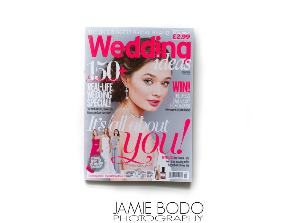 Rams Head Inn Published in Wedding Ideas Magazine