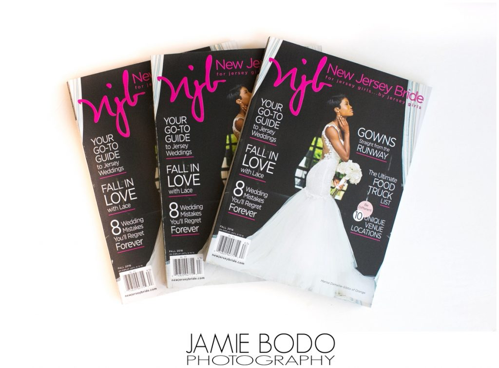 Stone Rows Farm Wedding Published in NJ Bride Magazine