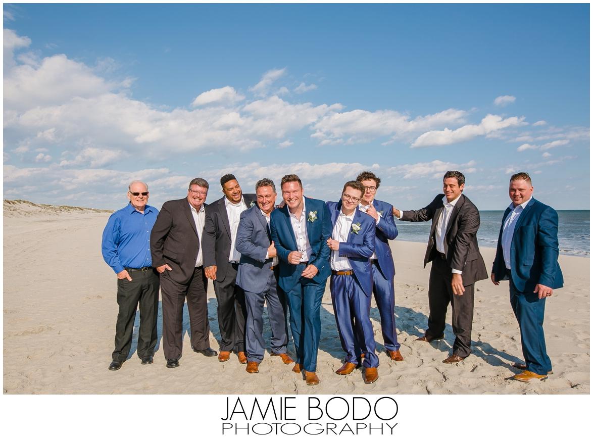 Dreamy Stone Harbor Private Beach Wedding | Jamie Bodo Photography