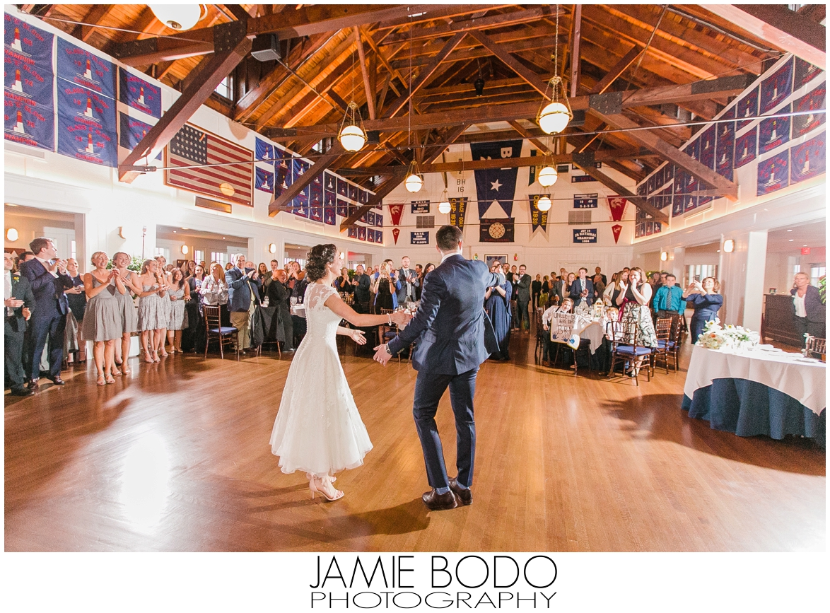Bay Head Yacht Club Wedding Photos | Jamie Bodo Photography