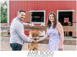Hidden Spring Lavender Farm Engagement Photos