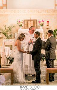 St. Mary's Roman Catholic Wedding Ceremony Photos